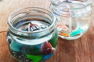 ちょいのぞき シーグラスを拾って海を感じるインテリアをつくろう! @ 前浜マリンセンター